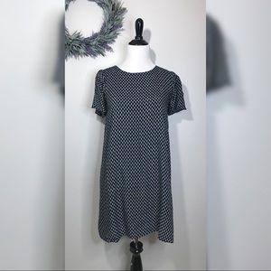 Everly Printed Short Sleeve Dress